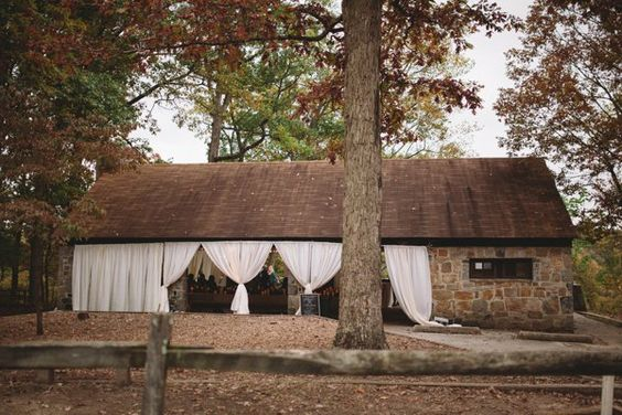 Today's laid-back, outdoor wedding from Val and Sarah is the epitome of perfectly chic and perfectly rustic. Set in Patapsco Valley State Park near Ellicott City, the couple transformed one of the park shelters into an intimate wedding venue. Our favorite parts? The fireplace, flower crown, ...