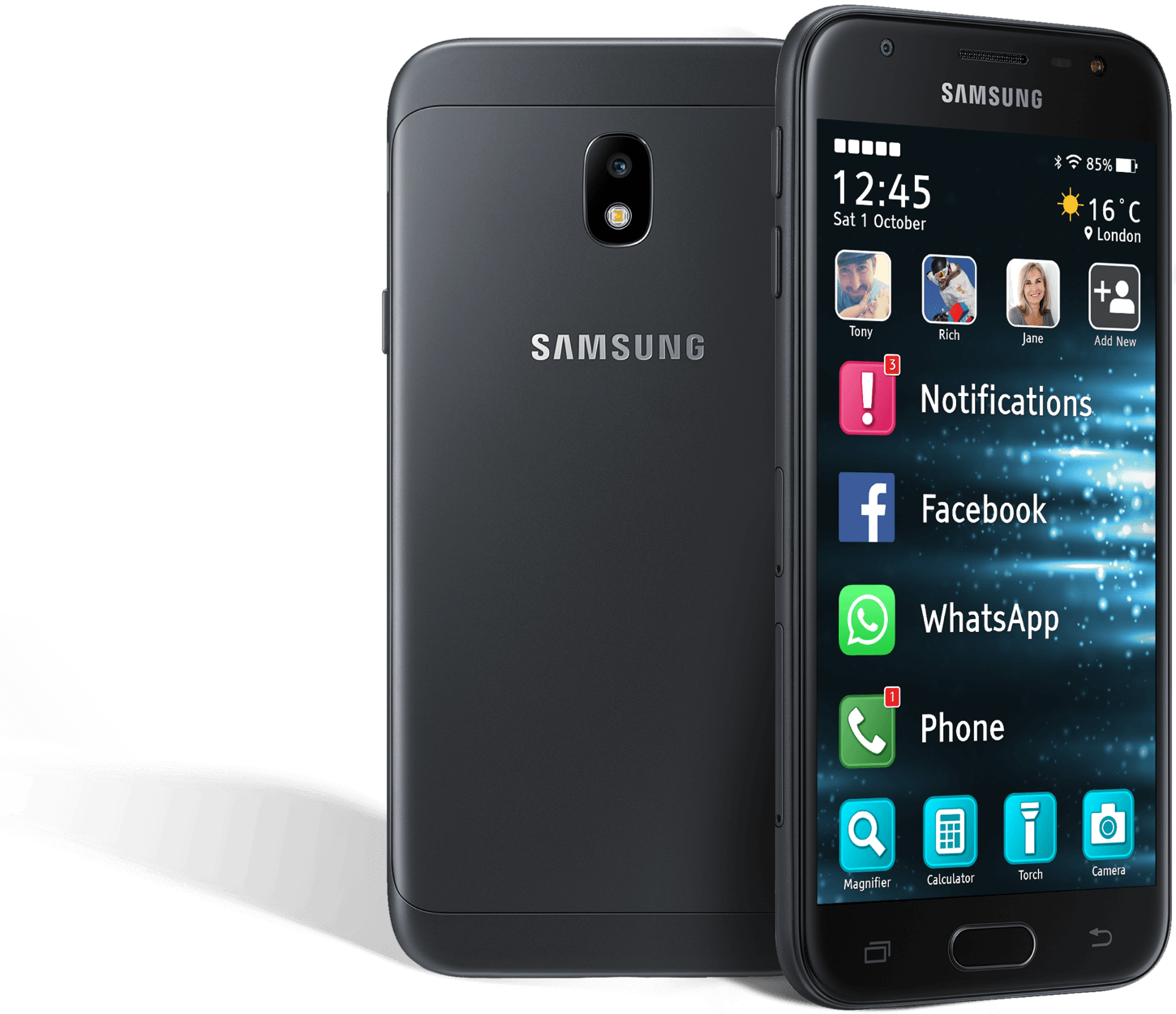 Samsung J3 2017 with Zone V
