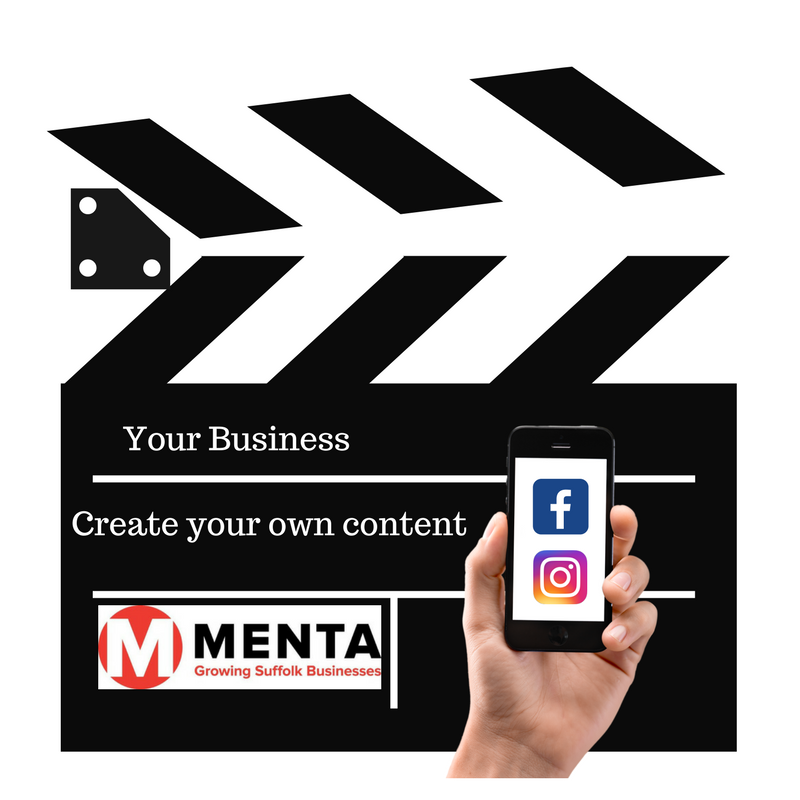 Smatphone Content Marketing - MENTA Training in Suffolk