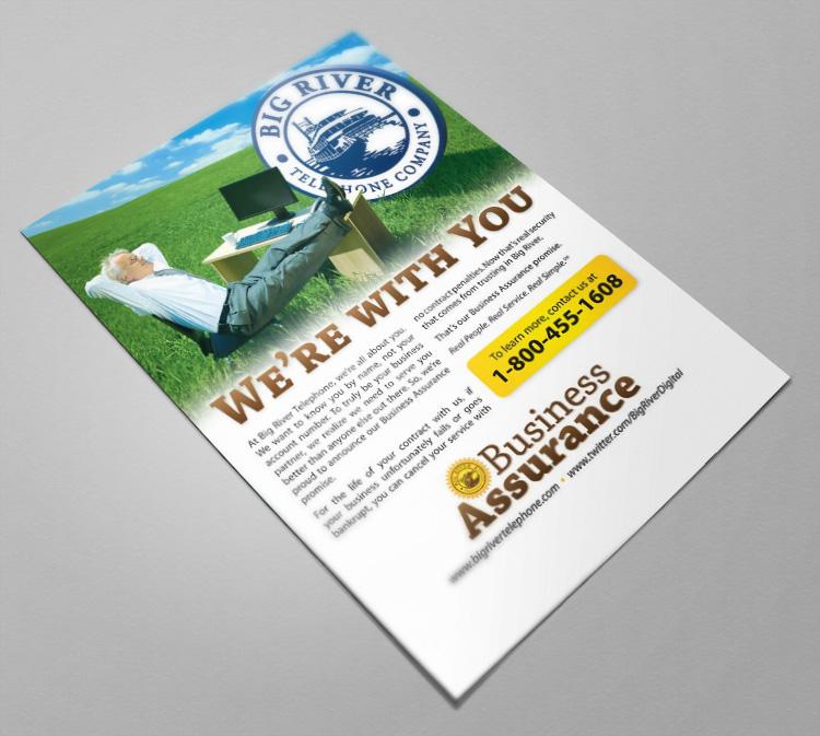 Business Assurance Marketing Campaign Flyer