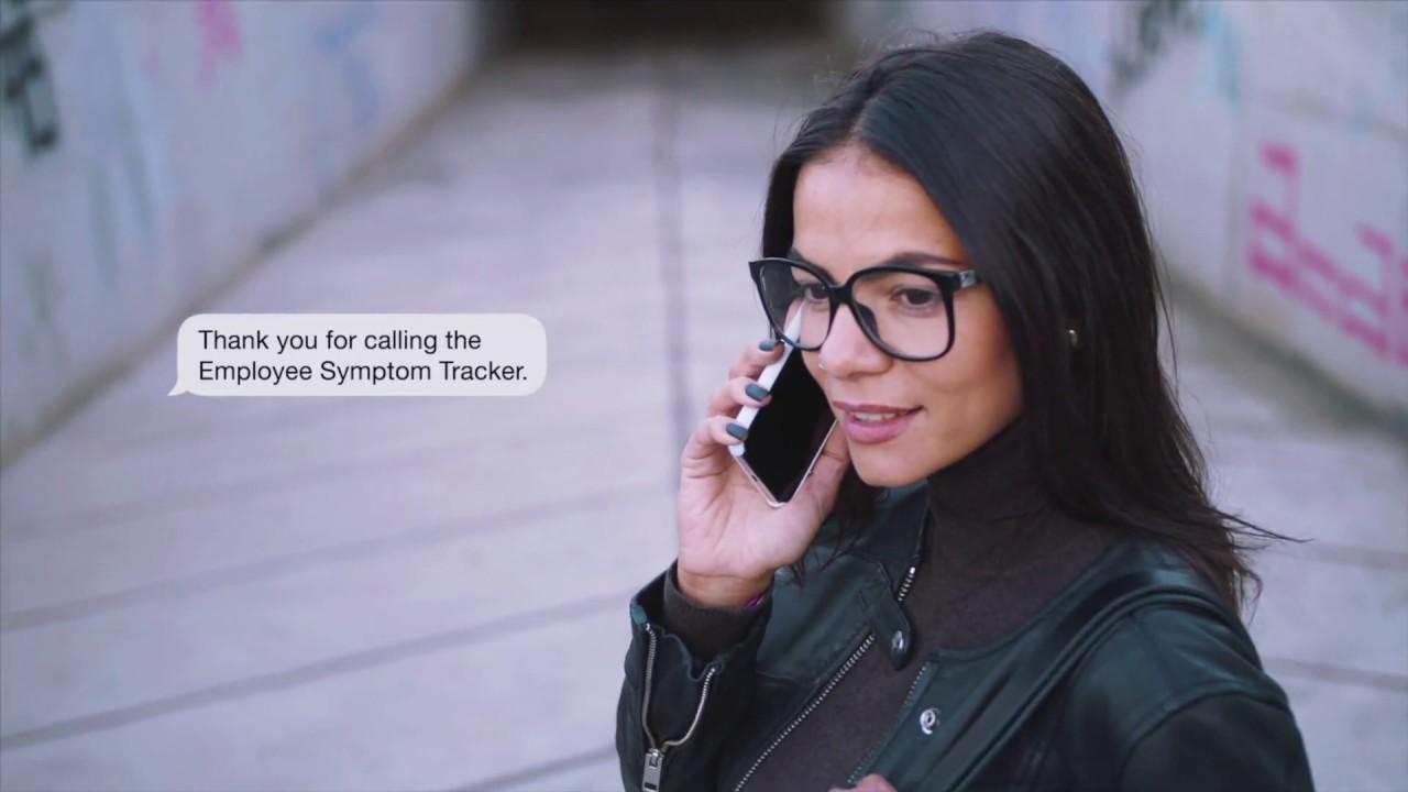 Vocantas Employee Symptom Tracker™ - YouTube