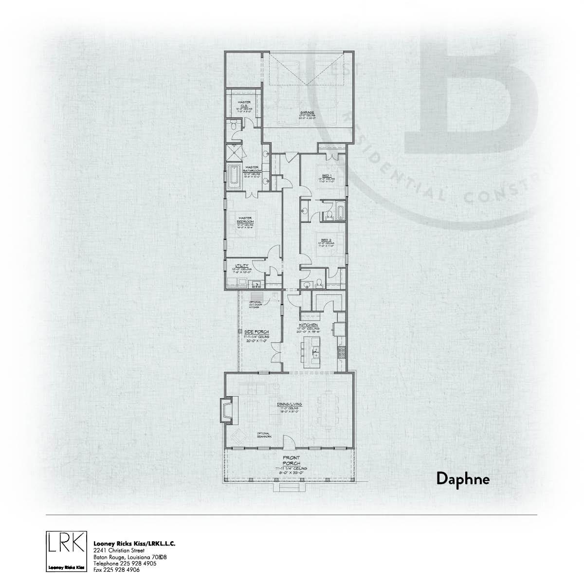 Daphne Floorplan