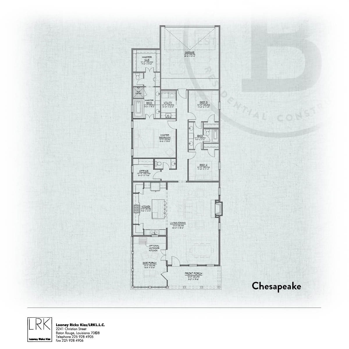 Chesapeake Floorplan