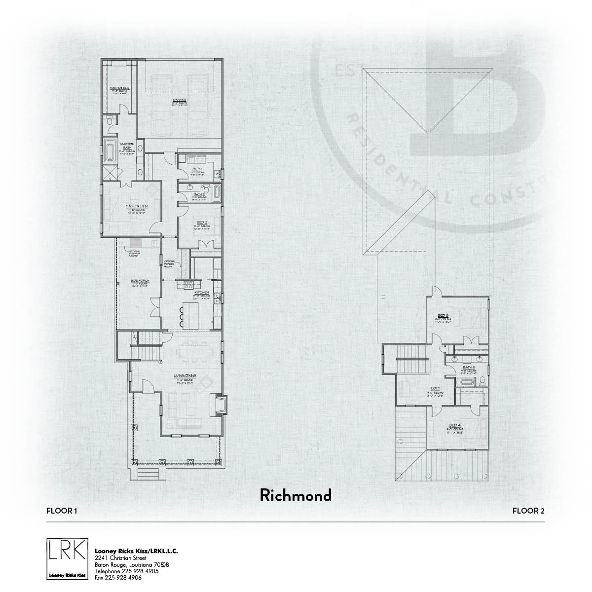 Richmond Floorplan