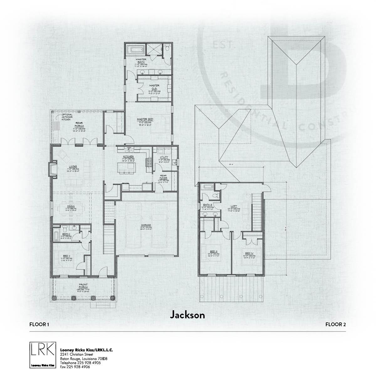 Jackson Floorplan