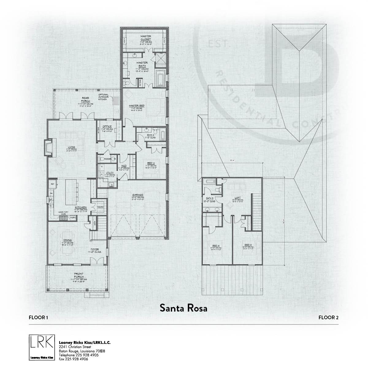 Santa Rosa Floorplan