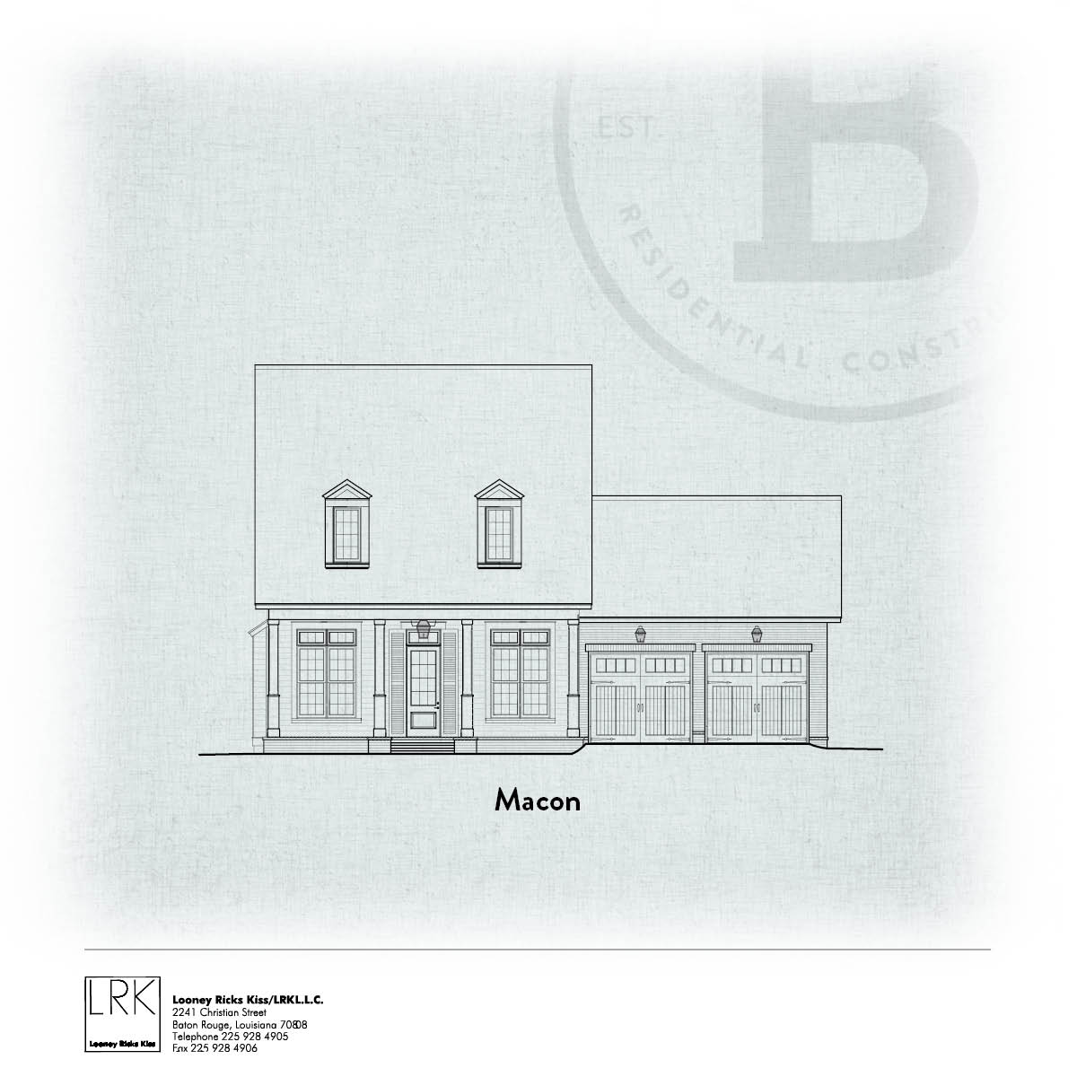 Macon Elevation