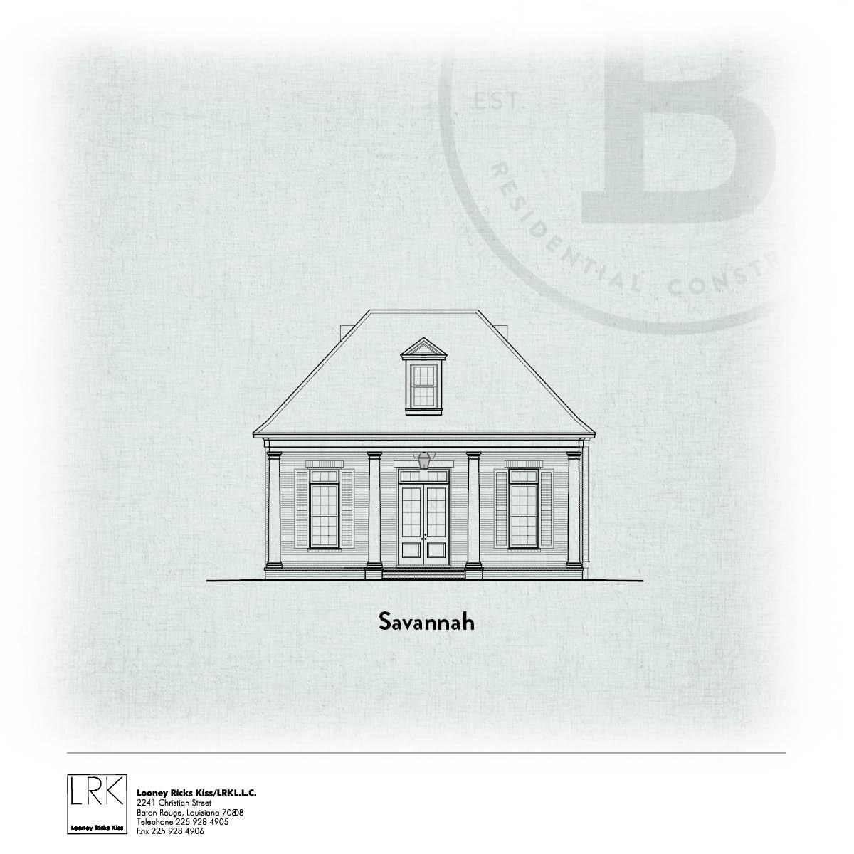 Savannah Elevation