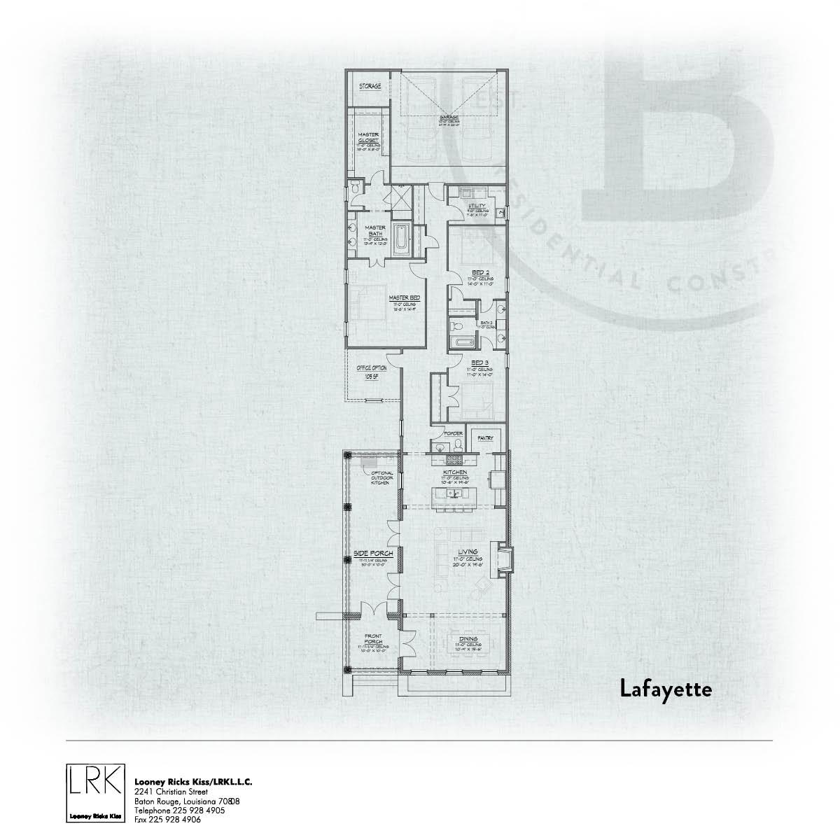 Lafayette Floorplan