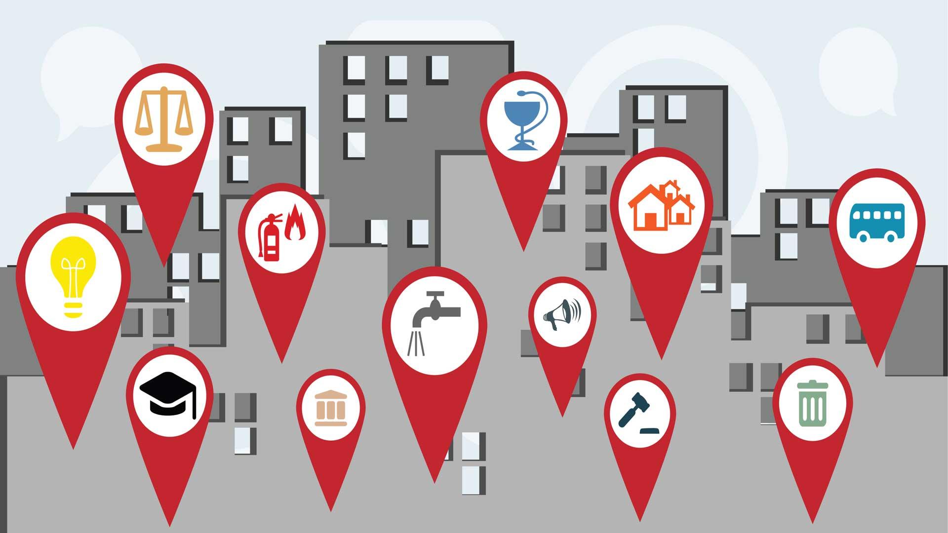 GEODI and MOBIDI Solutions in Municipalities