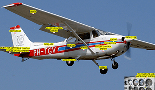 Cessna 172 - Etkileşimli Dokümantasyonu