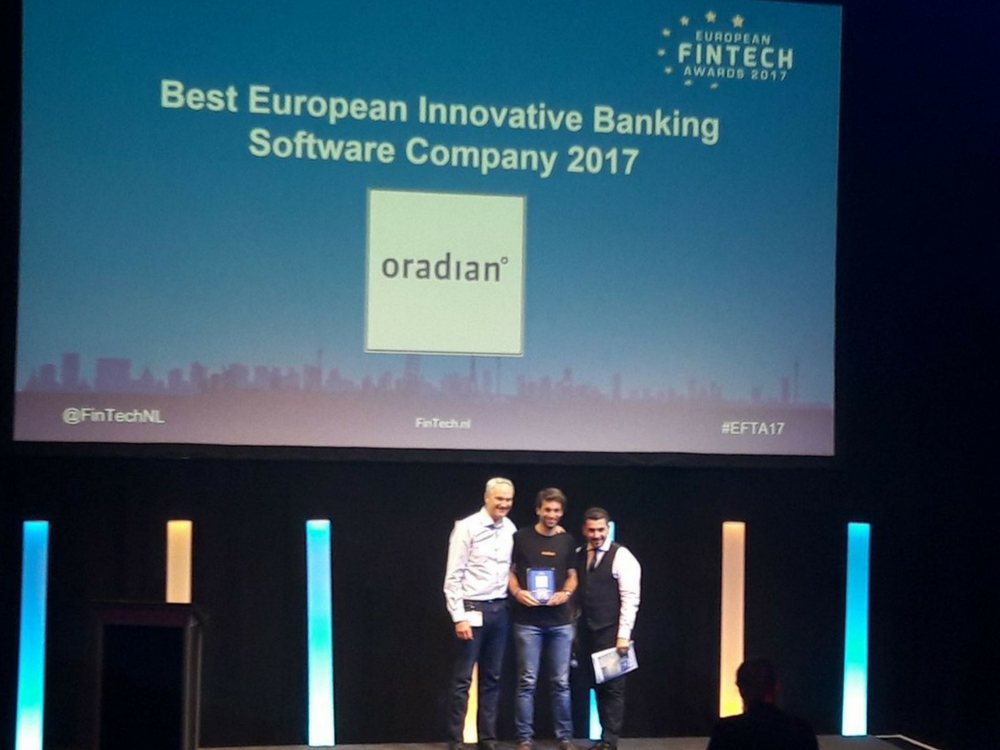 Fintech Startup Otadian on the European FinTech Awards 2017