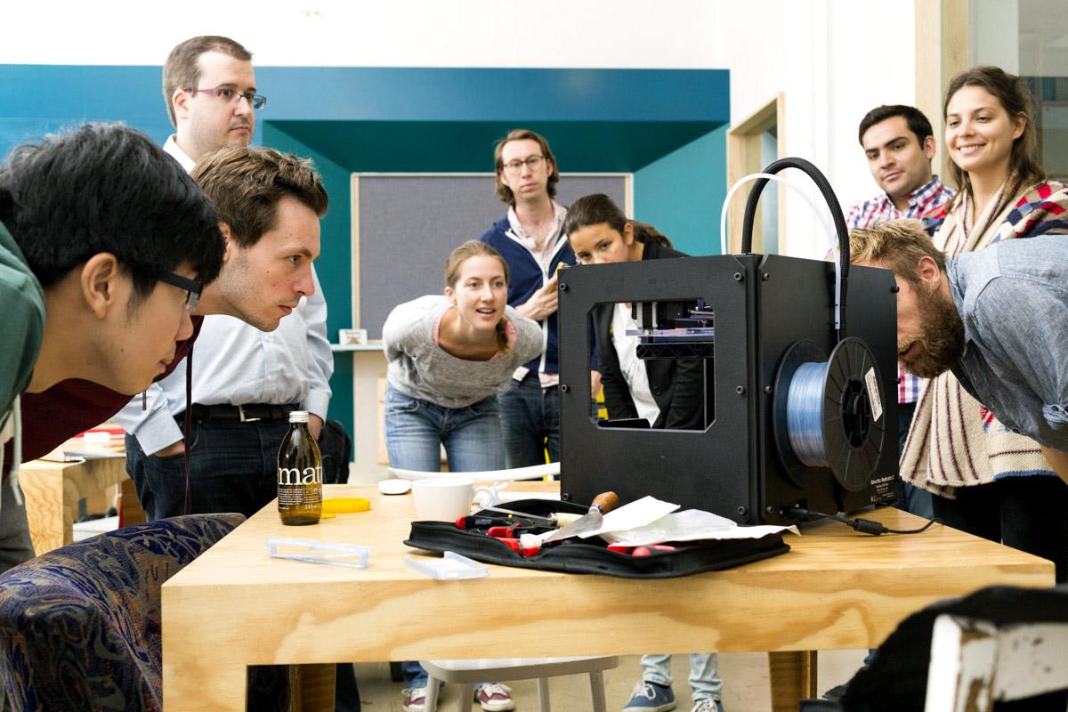 3D Printing Prorotype betahaus Hardware Lab