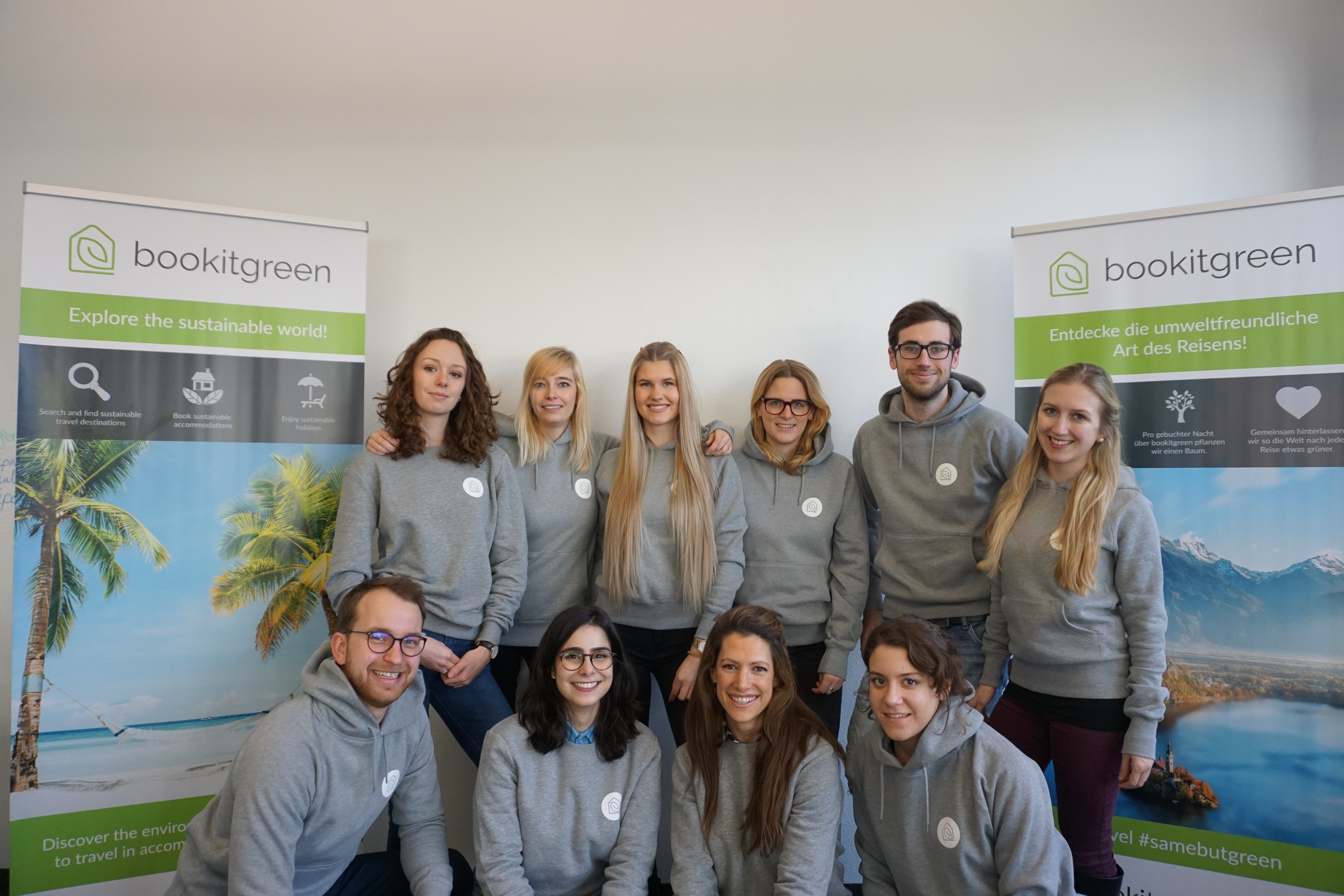 bookitgreen Team Online Platform Sustainable Travel Booking