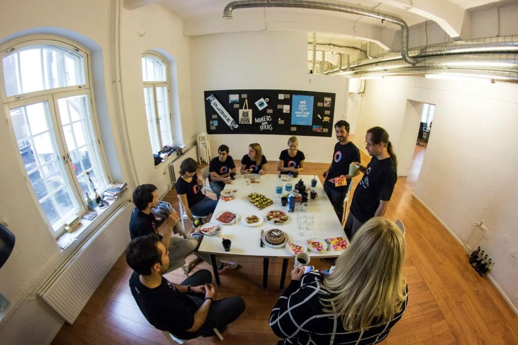Fintech Startup Holvi Meeting