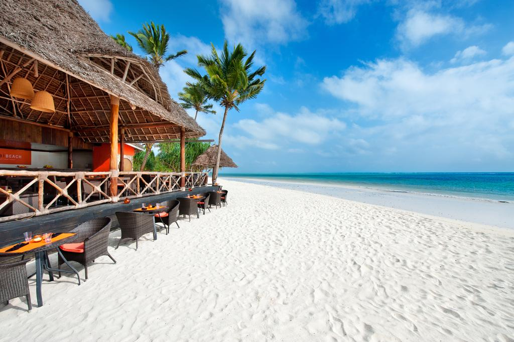 Melia Zanzibar offers uninterrupted views of the Indian Ocean.