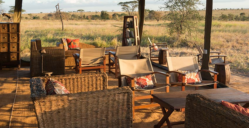 Chaka Camp is a semi-permanent camp located in the Serengeti ecosystem.