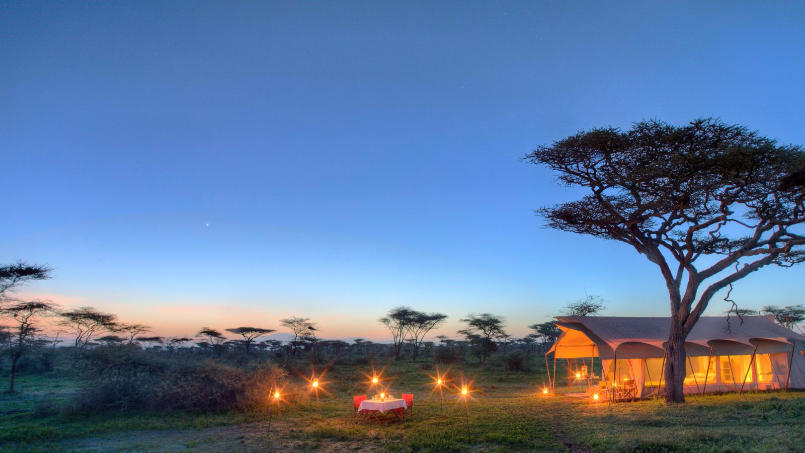 Experience a classic Tanzanian safari in spectacular solitude and soothing comfort – with only the canvas walls of your tent separating you from the wonder of the Serengeti.