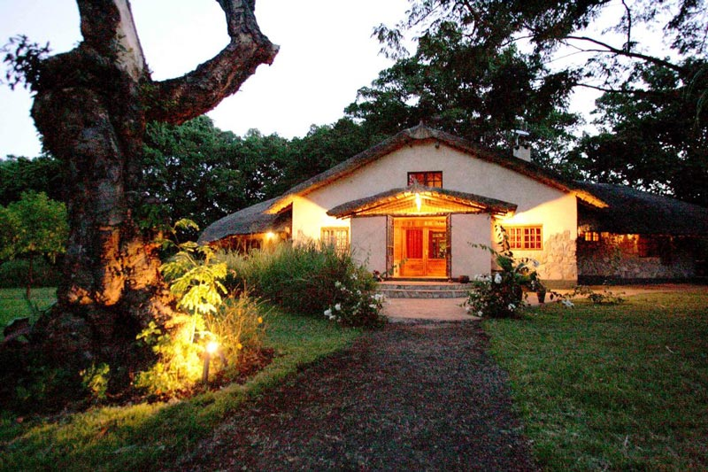 Set in Northern Tanzania just outside the bustling safari town of Arusha, Rivertrees looks out toward Mt Kilimanjaro.