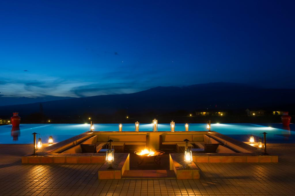 A 5 star colonial lodge situated on a picturesque hill with spectacular views onto Oldeani Mountain and the Ngorongoro Crater Rim.