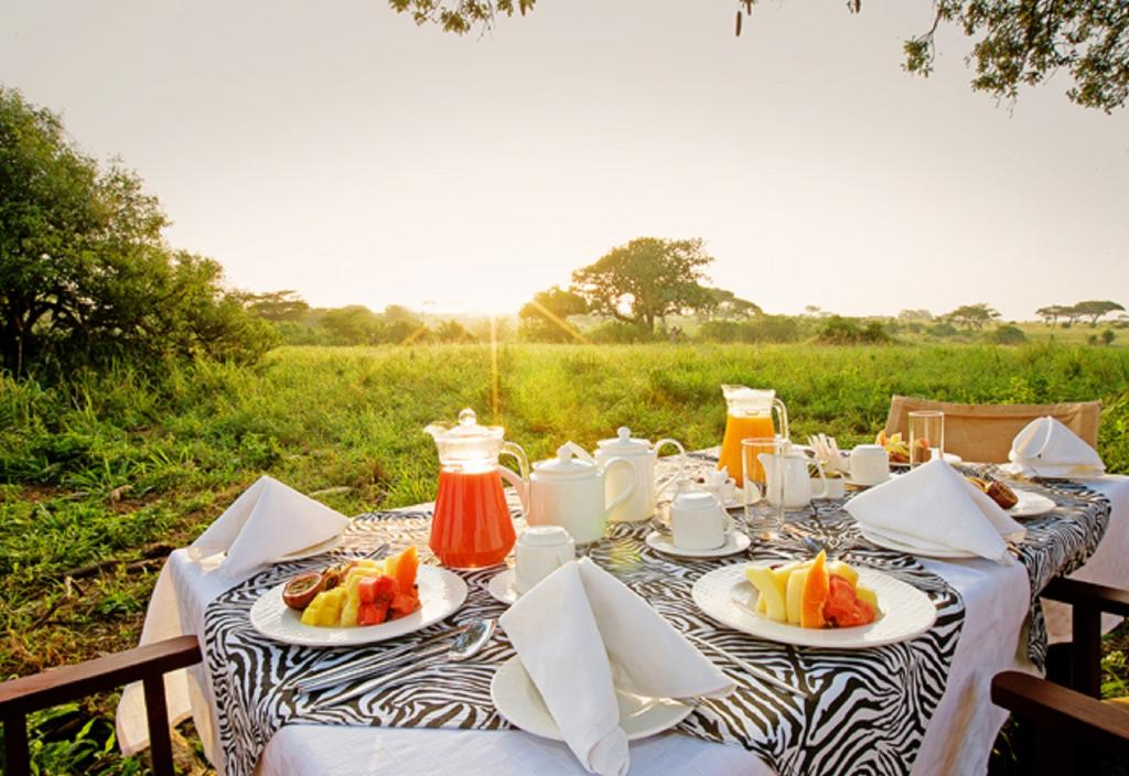 Built to blend in with the vastness of its surroundings, Tarangire Sopa Lodge lies hidden among the kopjes, ancient baobab and grasses of the Tarangire National Park