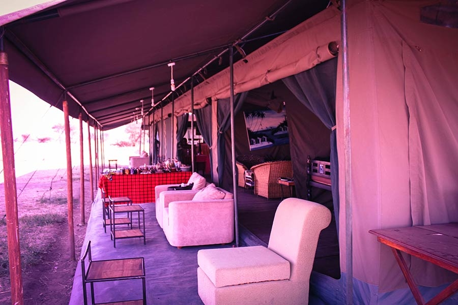 The Traditional tented camp is by far the best choice to explore wildlife on a safari in Africa.