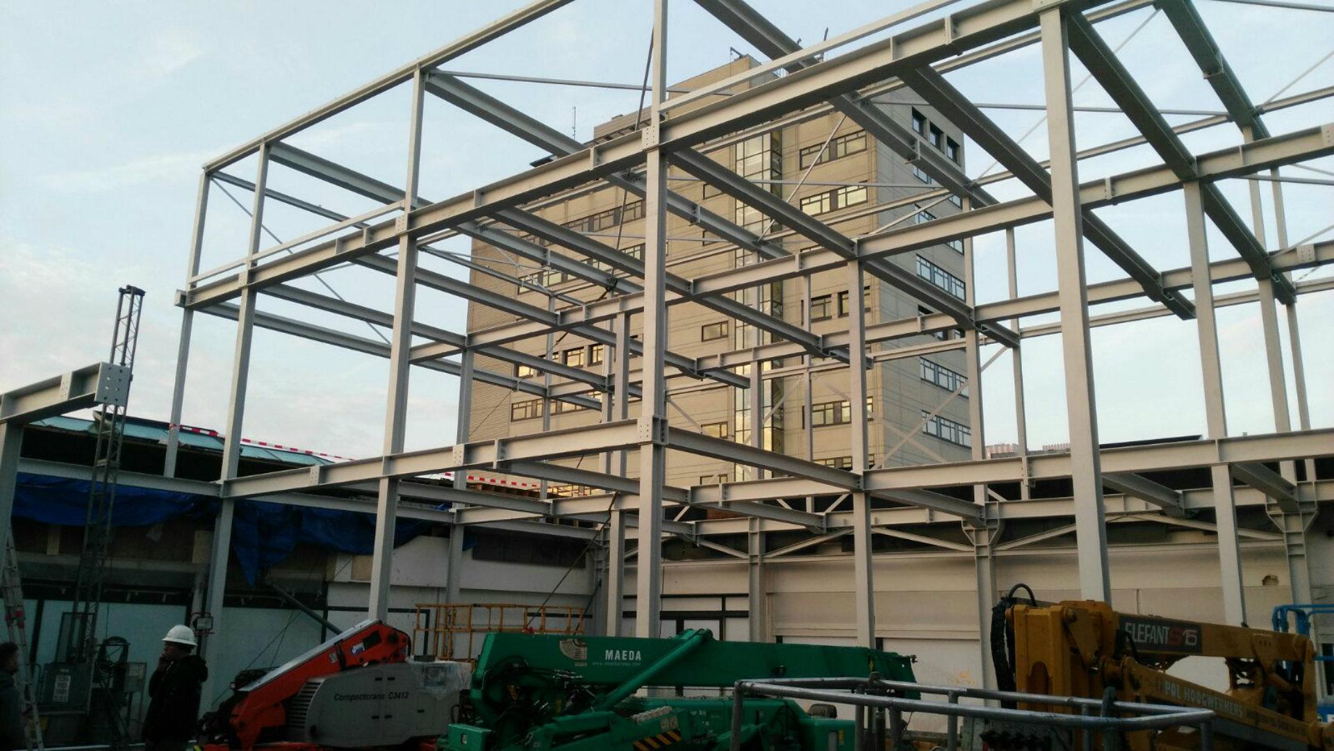 Constructie Gelderlandplein Amsterdam