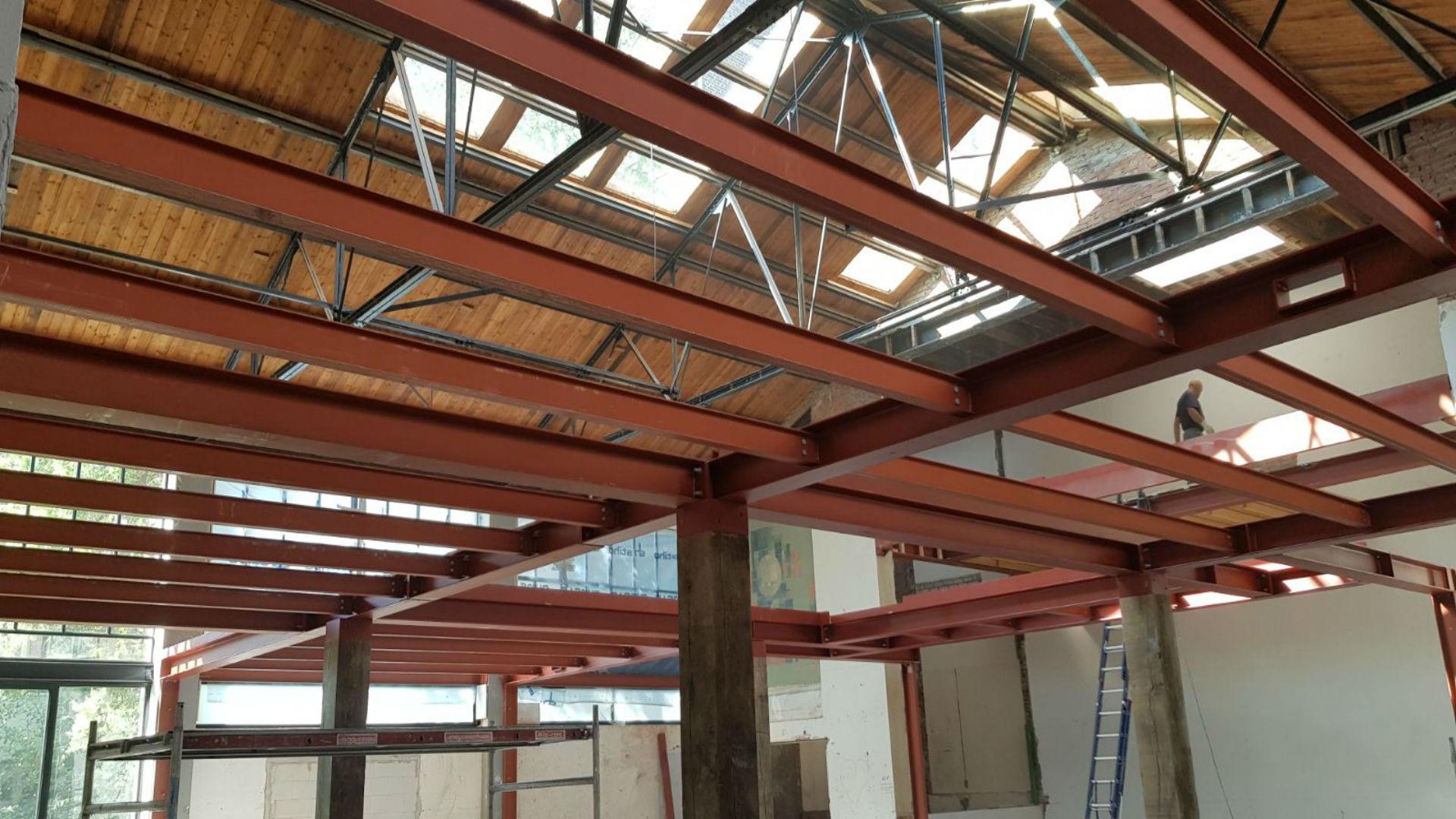 Stalen constructie VKV Amsterdam