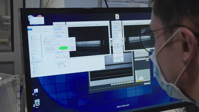 besoins stéréo-corrélation d'images - PIV -acquisition haute résolution