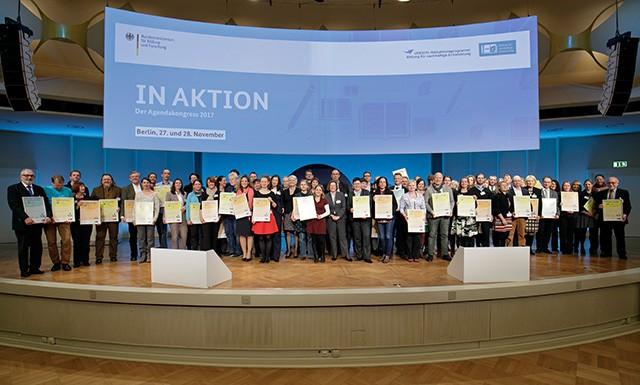 Ausgezeichnet: Global Goals Curriculum ist Vorbild für Nachhaltigkeit