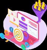 Data Driven Marketing Icon