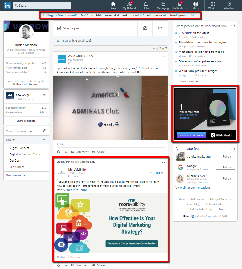 LInkedin Ads Examples