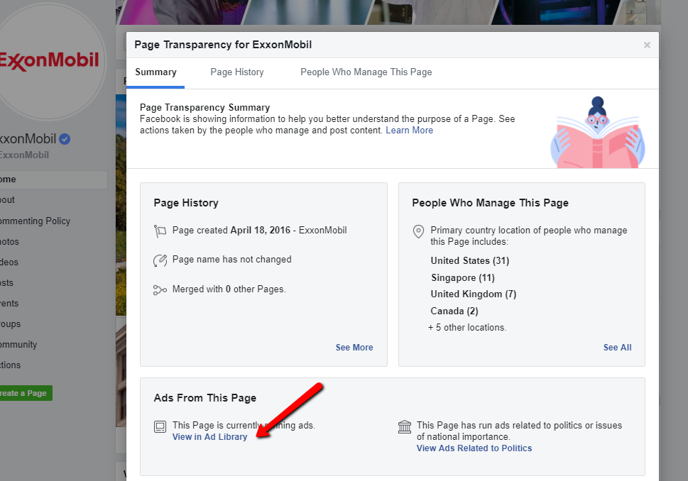 How to See Facebook Ads from Any Brand - Step 2