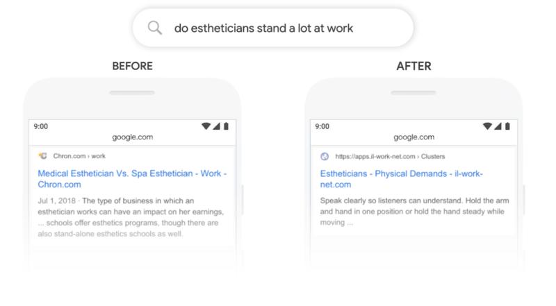 Google BERT Example 2