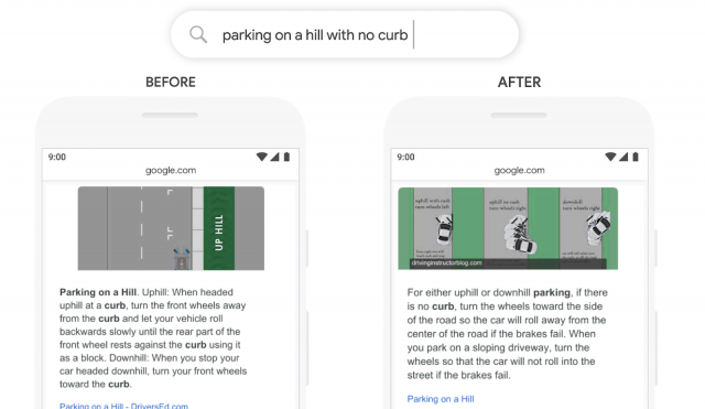 Google BERT Example - Rich Snippets