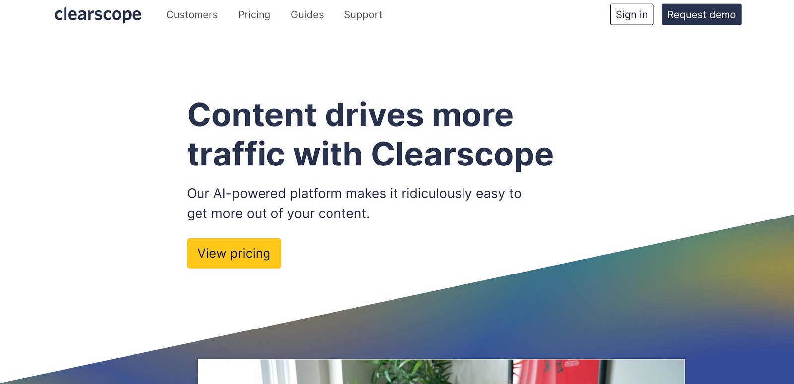 Clearscope for Cooking Class SEO