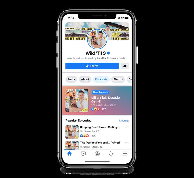Facebook Podcasts: Soundbites