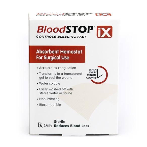 Absorpční hemostatická gáza Bloodstop