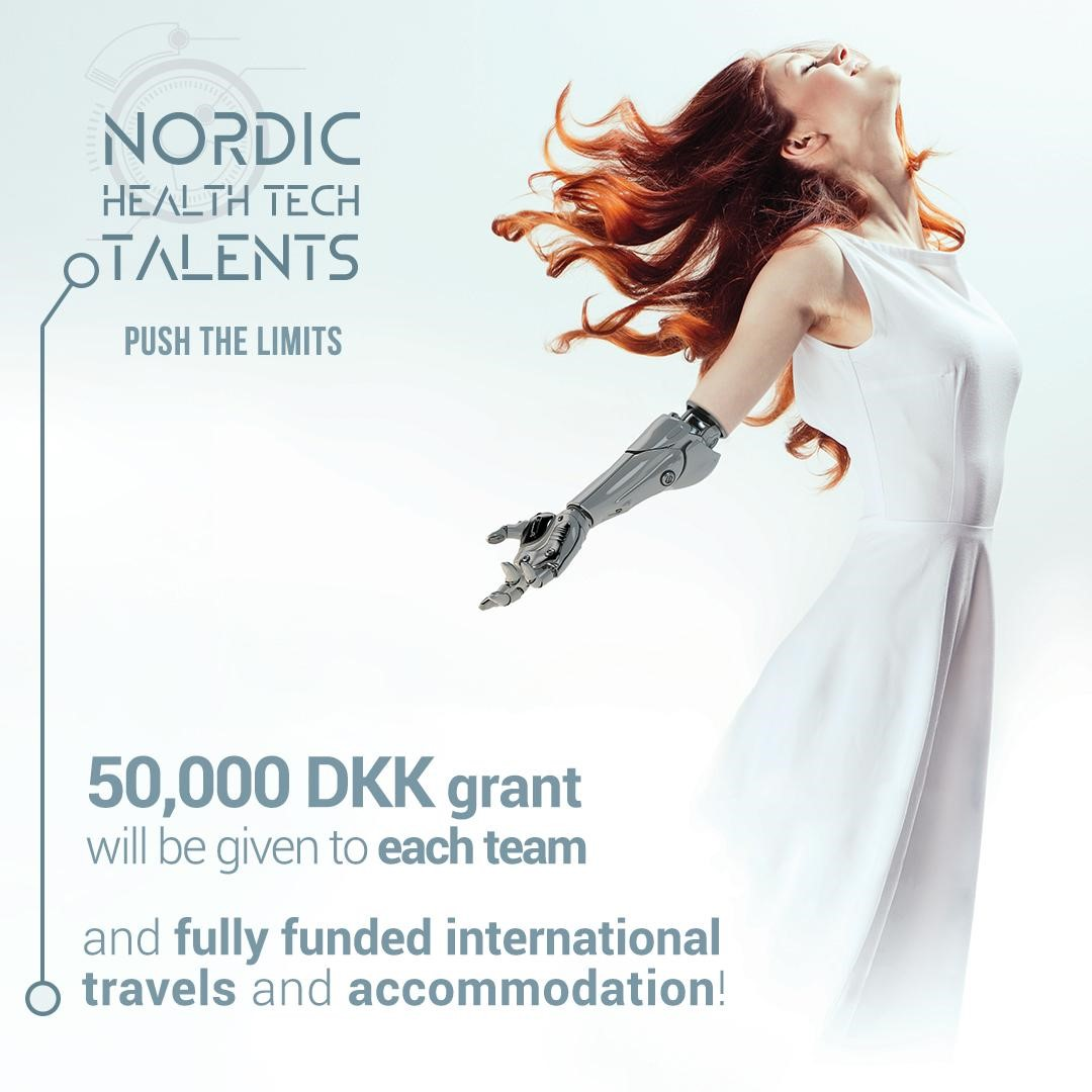Venture Cup Denmark is looking for the best entrepreneurial Health Tech talents of the Nordic countries