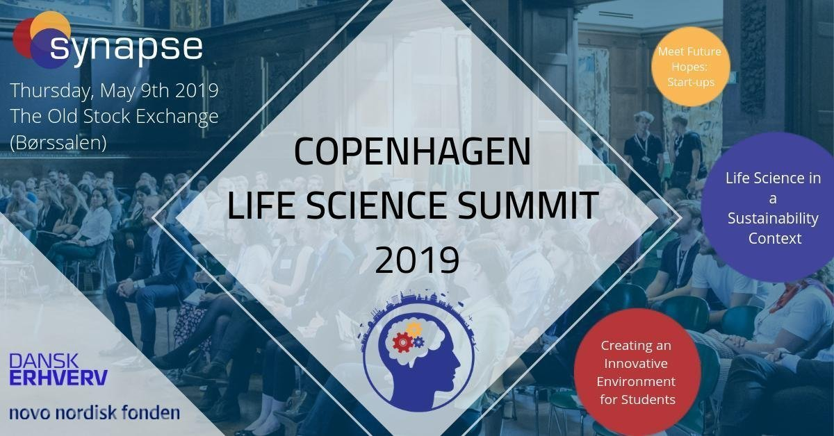 Synapse – Life Science Connect Invitation for Copenhagen Life Science Summit '19