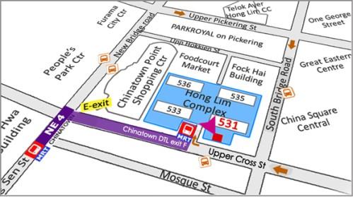 Blk 531 Upper Cross St, #01-06 Hong Lim Complex, Singapore 050531