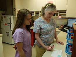 Samara and Judy - Allergy Testing