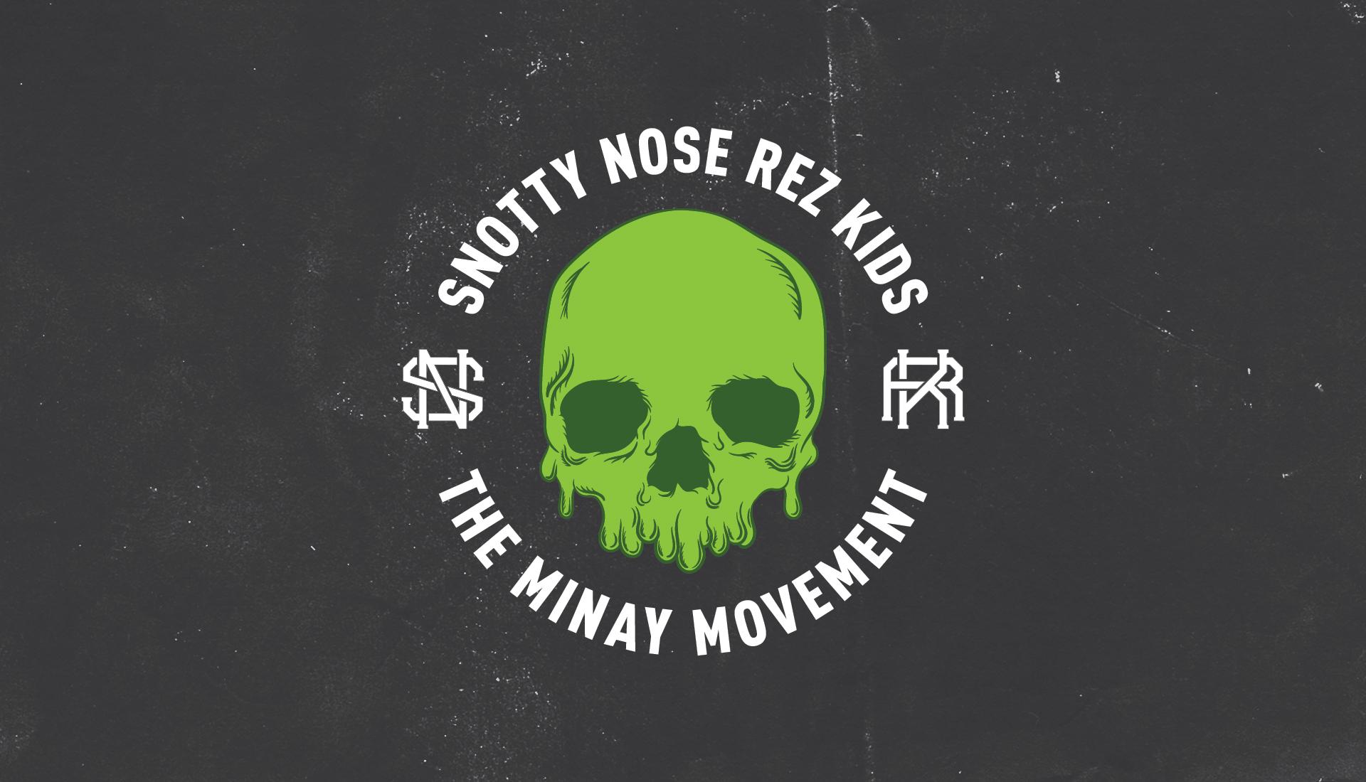 Snotty Nose Rez Kids | Secondary Logo, The Minay Movement