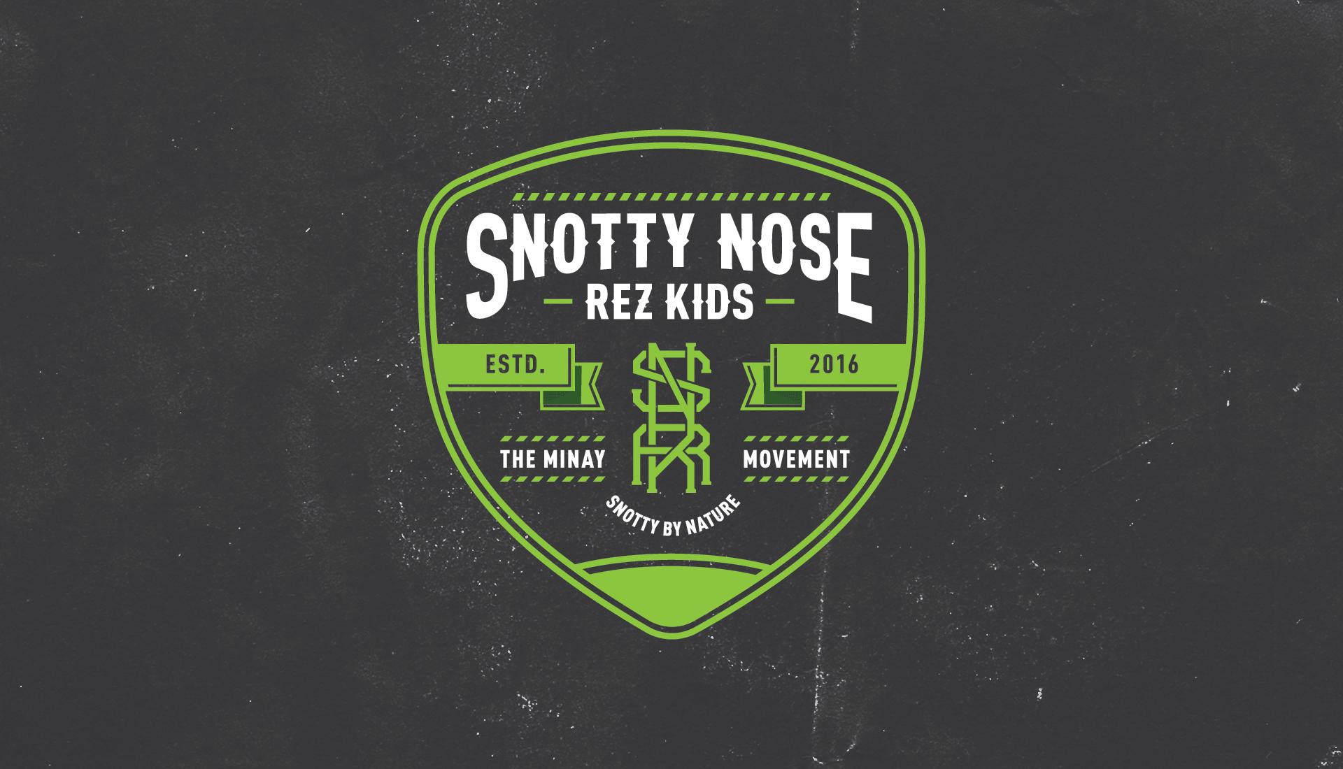 Snotty Nose Rez Kids |  Badge Design 1