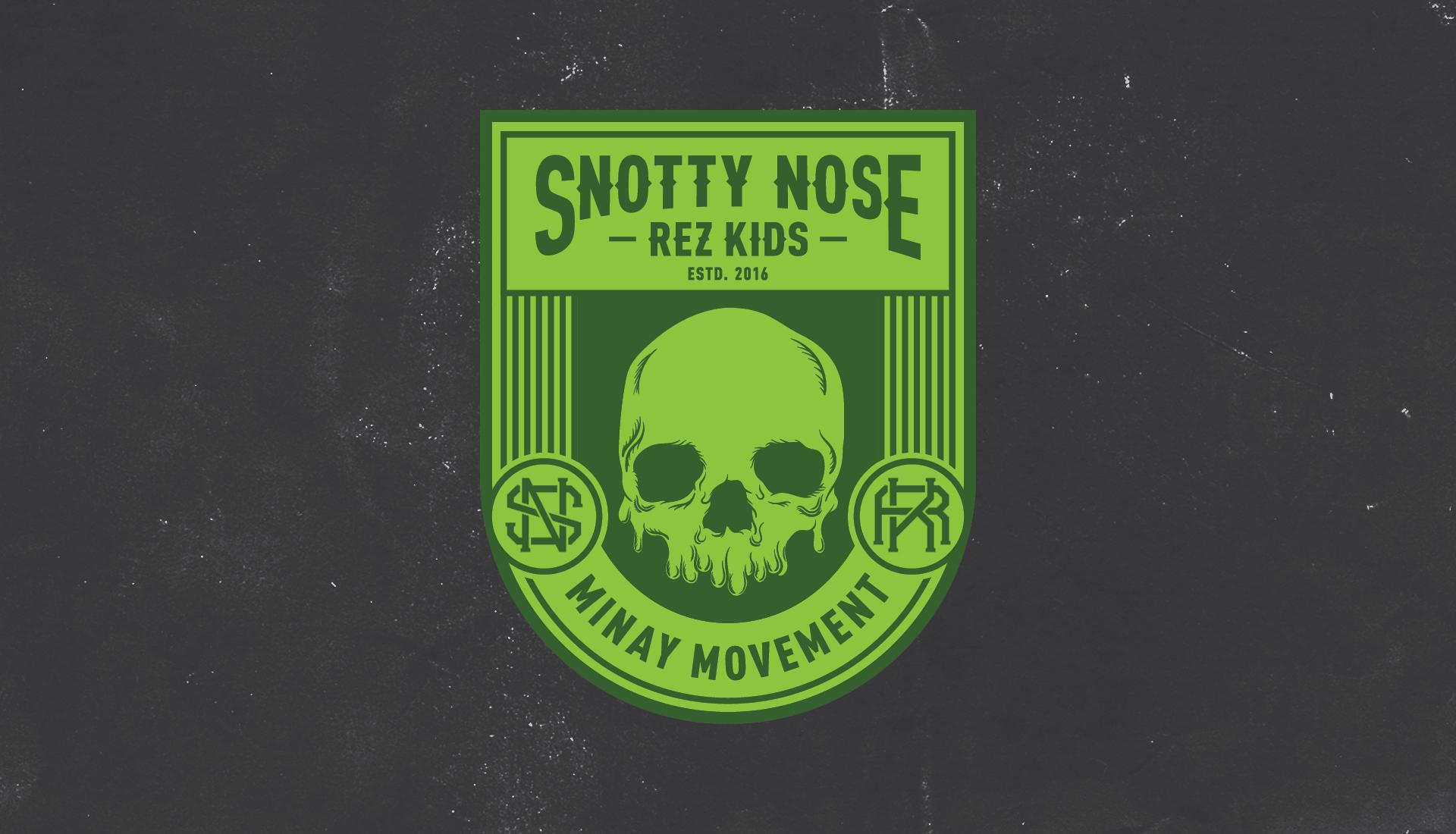 Snotty Nose Rez Kids | Tertiary Badge