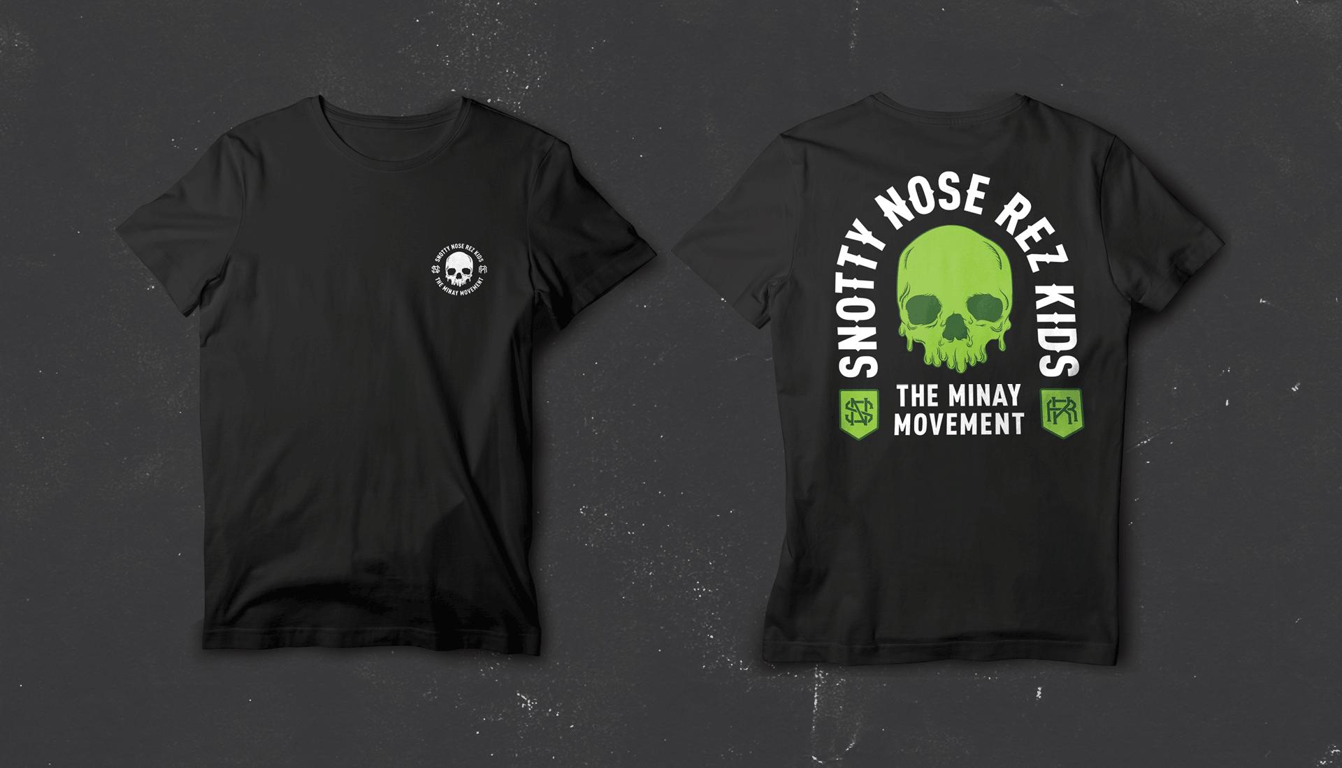 Snotty Nose Rez Kids | T-shirt Merch Design 1