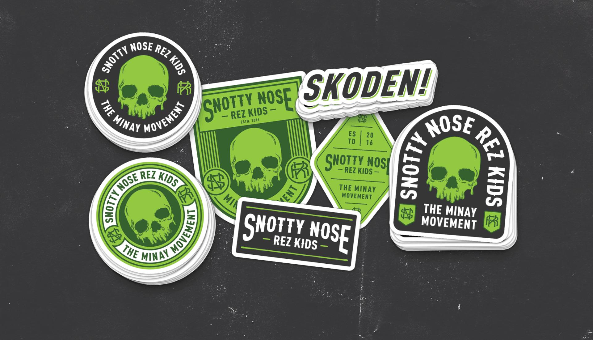 Snotty Nose Rez Kids | Stickers