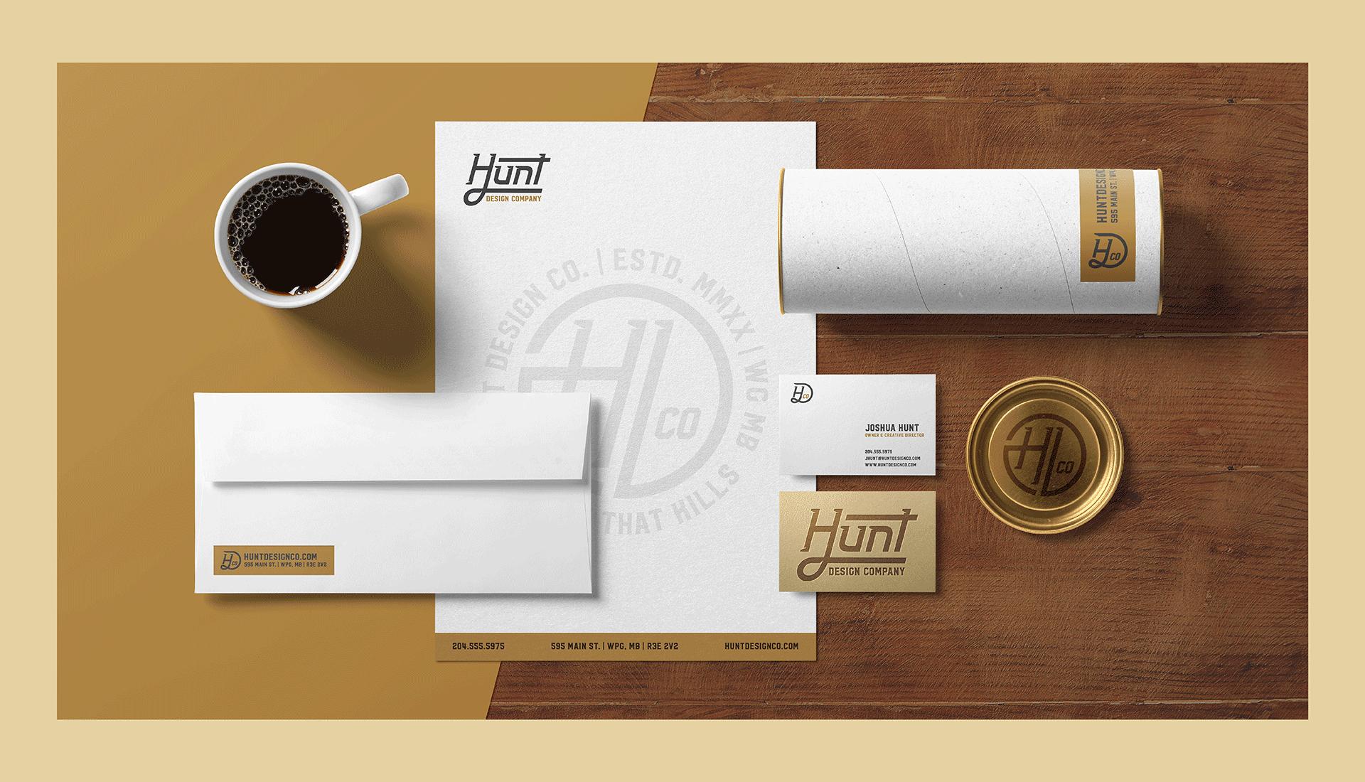 Hunt Design Co.   Stationery