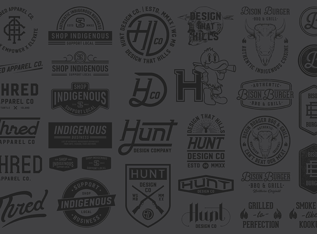 Thred Design Co. | Indigenous graphic design, badges logos and illustration.