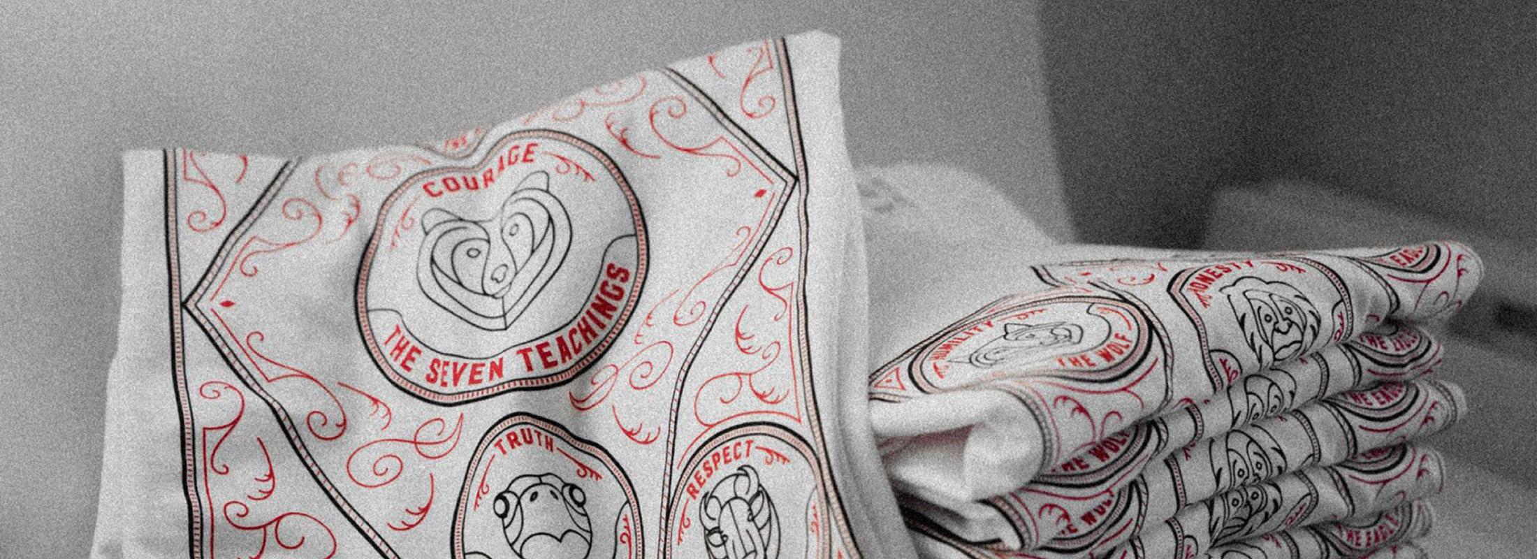 Thred Design Co. | The Seven Teachings t-shirt design